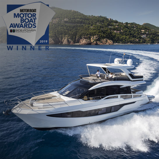 Galeon 640 Flybridge won the 2019 Motor Boat Award!